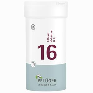 Abbildung von Biochemie Pflüger Nr. 16 Lithium Chloratum D6 Tabletten 400 Stück