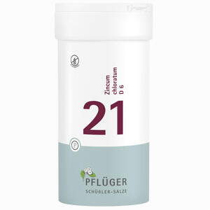 Abbildung von Biochemie Pflüger Nr. 21 Zincum Chloratum D6 Tabletten 400 Stück