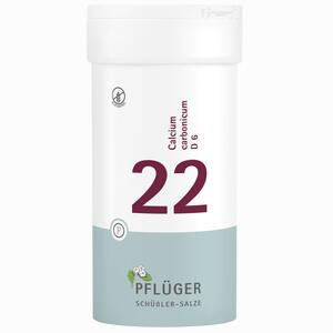 Abbildung von Biochemie Pflüger Nr. 22 Calcium Carbonicum D6 Tabletten 400 Stück