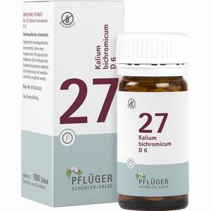 Abbildung von Biochemie Pflüger Nr. 27 Kalium Bichromicum D6 Tabletten 100 Stück