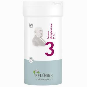 Abbildung von Biochemie Pflüger Nr. 3 Ferrum Phosphoricum D12 Tabletten 400 Stück
