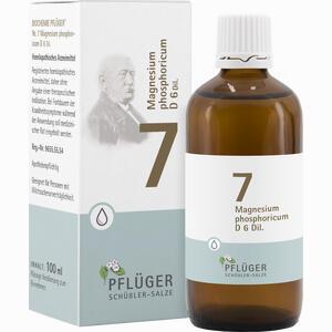 Abbildung von Biochemie Pflüger Nr. 7 Magnesium Phosphoricum D6 Tropfen 100 ml