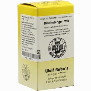 Abbildung von Biocholangen Wr Tabletten 50 Stück