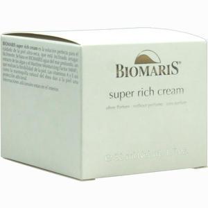 Abbildung von Biomaris Super Rich Cream Ohne Parfum Creme Biomaris 50 ml