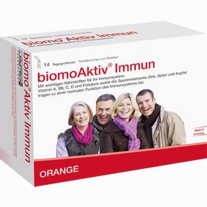 Abbildung von Biomo Aktiv Immun Trinkflaschen + Tabletten 14- Tages- Kombi Kombipackung 1 Packung