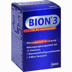 Abbildung von Bion 3 Multivitamin Tabletten  30 Stück