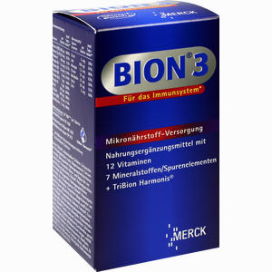 Abbildung von Bion 3 Multivitamin Tabletten  90 Stück