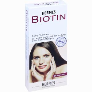 Abbildung von Biotin Hermes 2.5 Mg Tabletten 30 Stück