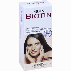 Abbildung von Biotin Hermes 2.5 Mg Tabletten 90 Stück
