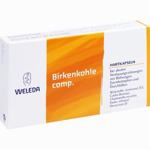 Abbildung von Birkenkohle Comp. Hartkapseln  20 Stück