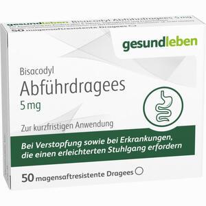 Abbildung von Bisacodyl Abführdragees 5 Mg Tabletten 50 Stück