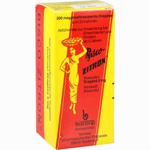 Abbildung von Bisco Zitron Dragees 300 Stück