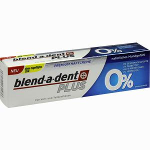 Abbildung von Blend- A- Dent Super- Haftcreme 0%  1 Stück