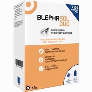 Abbildung von Blephasol Duo 100ml + 100 Reinigungspads Kombipackung 1 Packung