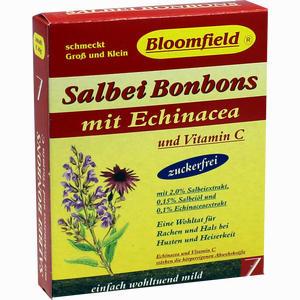 Abbildung von Bloomfield Salbei- Bonbons mit Echinacea zuckerfrei  40 g