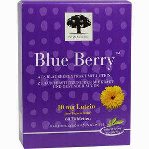Abbildung von Blue Berry Eyebright Tabletten 60 Stück