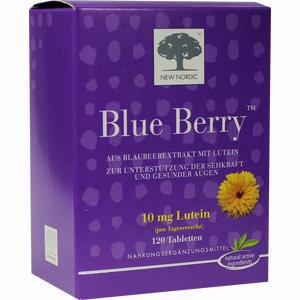 Abbildung von Blue Berry Eyebright Tabletten 120 Stück