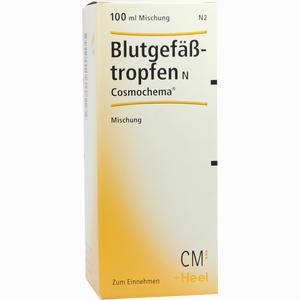 Abbildung von Blutgefäßtropfen N Cosmochema  100 ml
