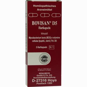 Abbildung von Bovisan D5 Kapseln 5 Stück