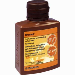 Abbildung von Braunol Schleimhautantiseptikum Lösung 100 ml