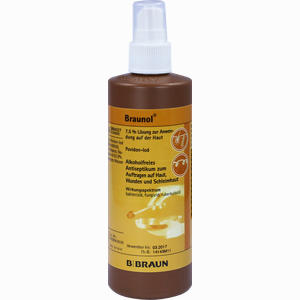 Abbildung von Braunol Schleimhautantiseptikum Lösung 250 ml