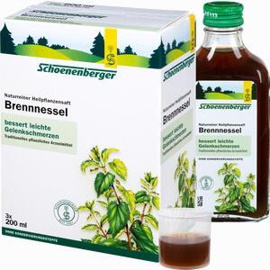 Abbildung von Brennnesselsaft Schoenenberger  3 x 200 ml