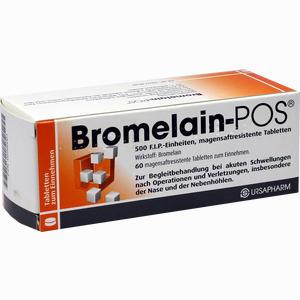 Abbildung von Bromelain Pos Tabletten 60 Stück