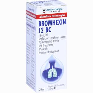 Abbildung von Bromhexin 12 Bc Tropfen  30 ml