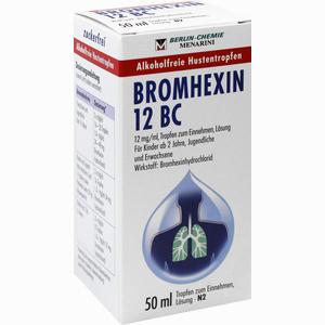 Abbildung von Bromhexin 12 Bc Tropfen  50 ml