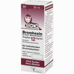 Abbildung von Bromhexin Krewel Meuselbach Tropfen 12mg/ml  30 ml