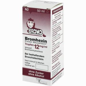 Abbildung von Bromhexin Krewel Meuselbach Tropfen 12mg/ml  50 ml