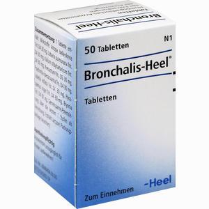 Abbildung von Bronchalis Heel Tabletten 50 Stück