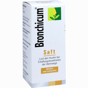 Abbildung von Bronchicum Saft  100 ml