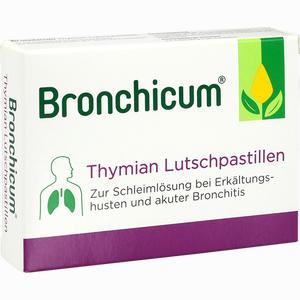 Abbildung von Bronchicum Thymian Lutschpastillen  20 Stück