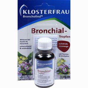 Abbildung von Broncholind Bronchial- Tropfen  20 ml