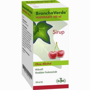Abbildung von Bronchoverde Hustensaft Sirup 100 ml