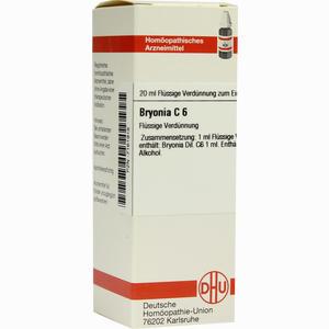 Abbildung von Bryonia C6 Dilution 20 ml