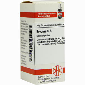 Abbildung von Bryonia C6 Globuli 10 g