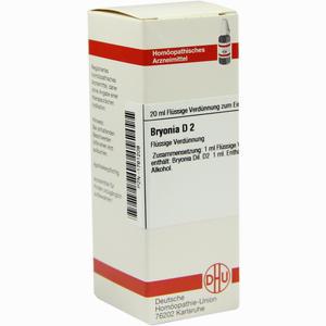 Abbildung von Bryonia D2 Dilution Dhu-arzneimittel 20 ml