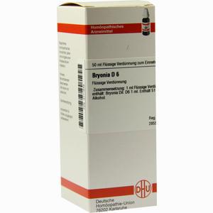 Abbildung von Bryonia D6 Dilution Dhu-arzneimittel 50 ml