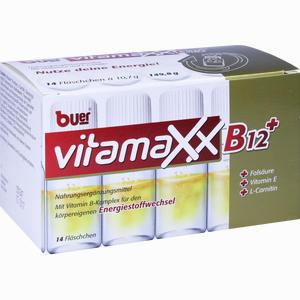 Abbildung von Buer Vitamaxx Trinkfläschchen Flasche 14 Stück