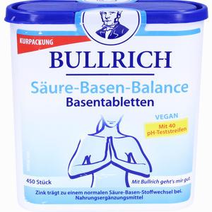 Abbildung von Bullrich Säure- Basen- Balance Basentabletten  450 Stück