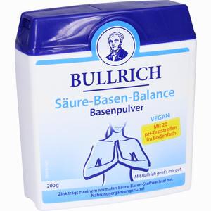 Abbildung von Bullrich Säure Basen Balance Pulver 200 g
