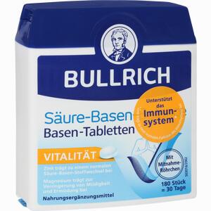 Abbildung von Bullrich Säure Basen Balance Tabletten 180 Stück