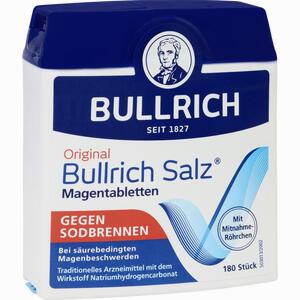 Abbildung von Bullrich Salz Tabletten 180 Stück