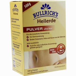 Abbildung von Bullrichs Heilerde Zum Einnehmen und Auftragen Pulver 500 g