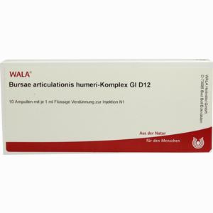 Abbildung von Bursae Articulationis Hum.- Komp. Gl D12 Ampullen 10 x 1 ml