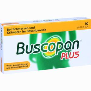 Abbildung von Buscopan Plus Zäpfchen 10 Stück