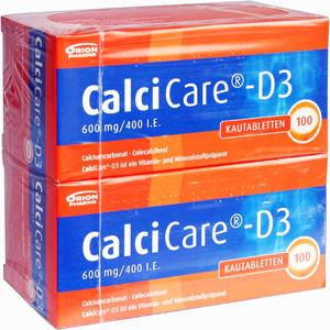 Abbildung von Calcicare D3 Kautabletten 200 Stück