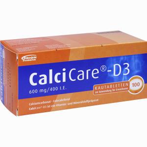 Abbildung von Calcicare D3 Kautabletten 100 Stück